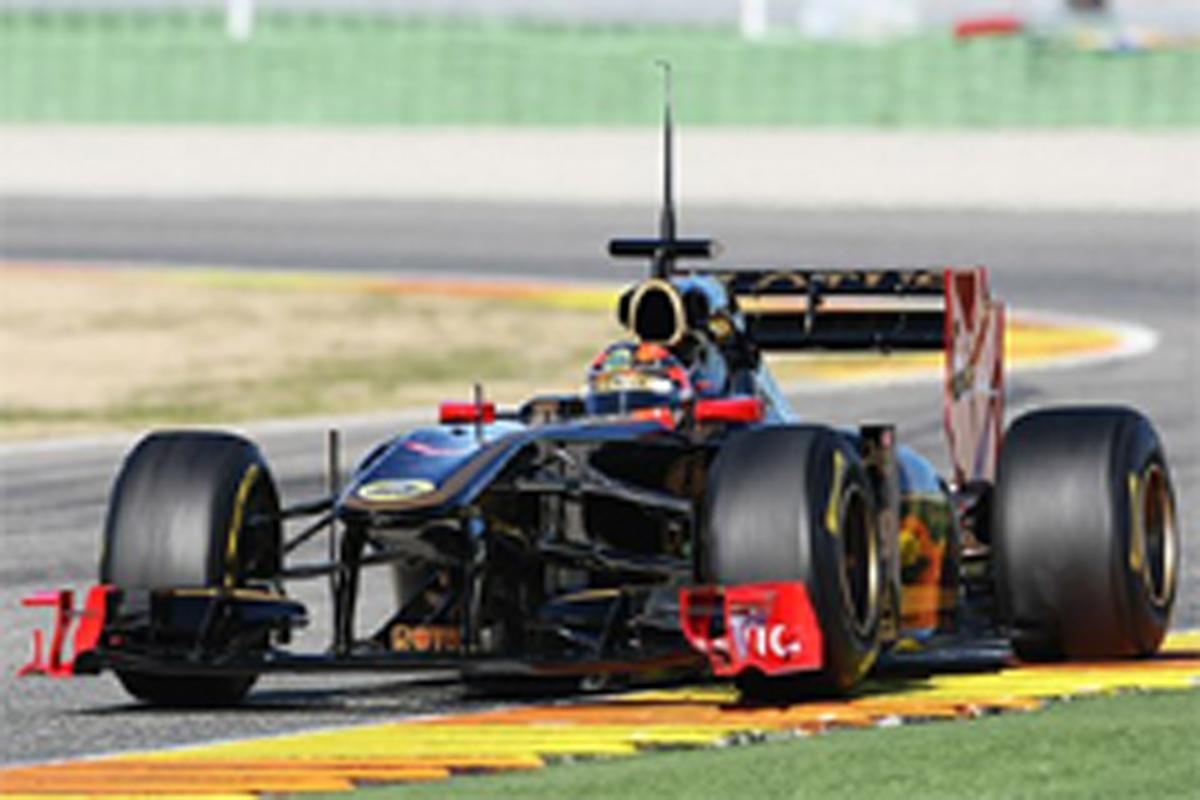 F1 可変リアウイング
