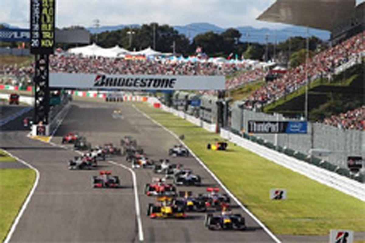F1日本GP 2012年 鈴鹿