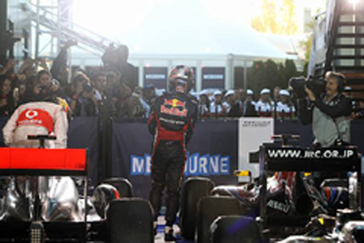 F1 オーストラリアGP レース結果