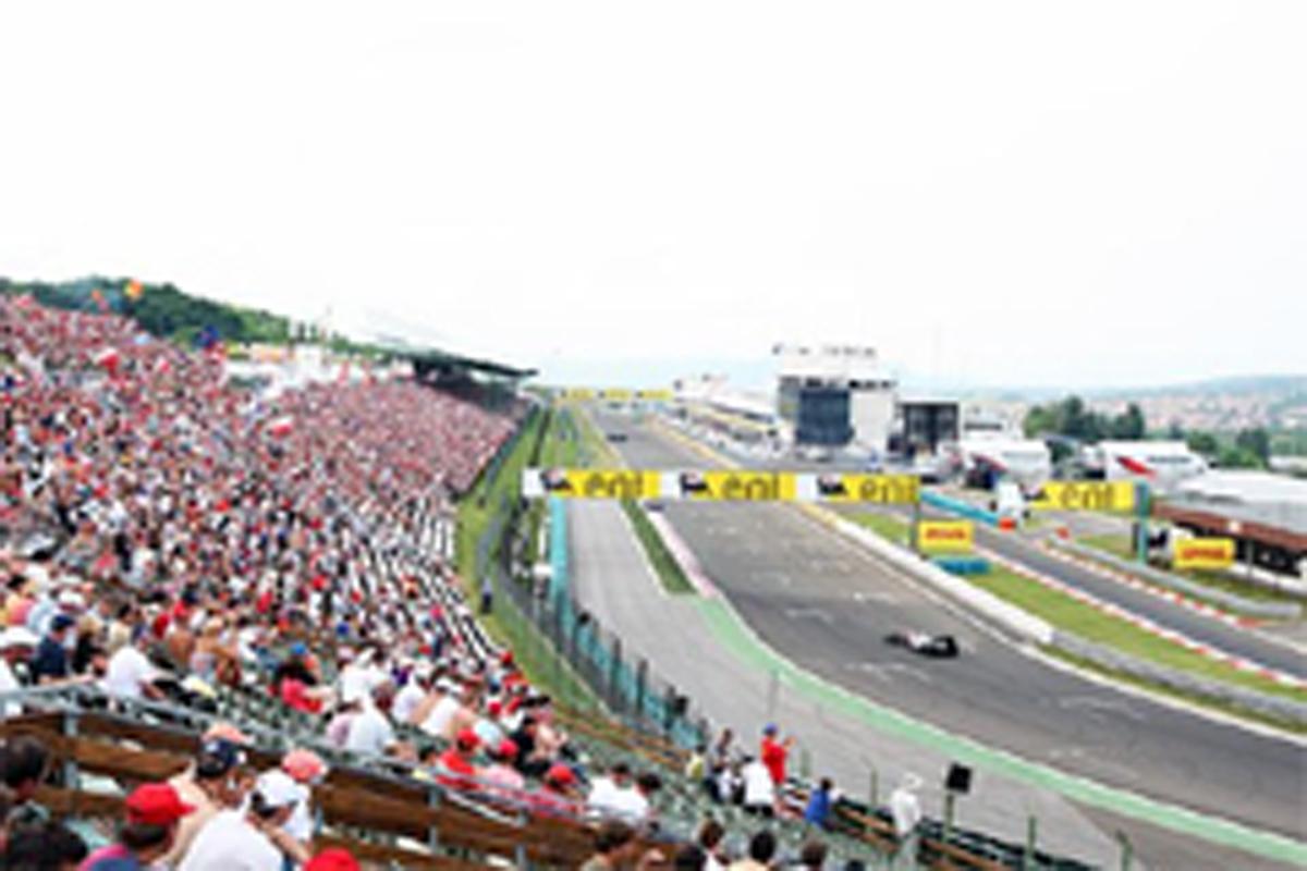 F1ハンガリーGP DRSゾーン