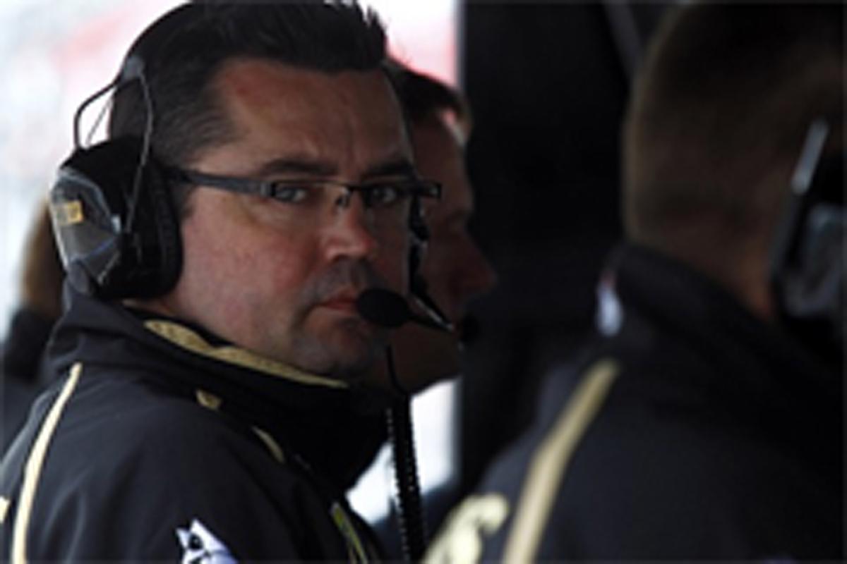 ロータス・ルノーGP チーム代表エリック・ブーリエ