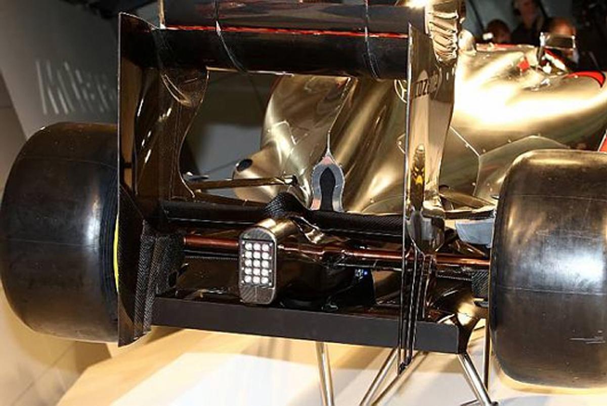 マクラーレン MP4-27 リアエンド