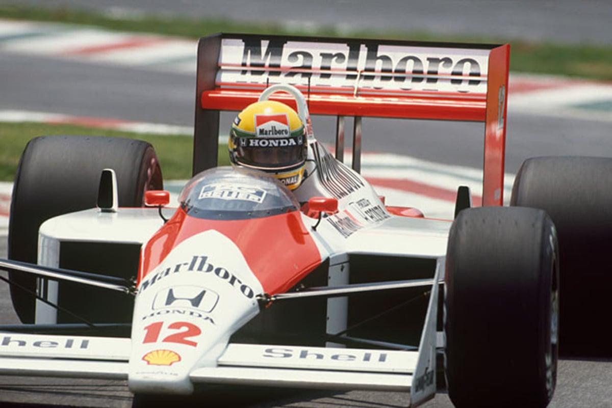 アイルトン・セナ F1 歴代マシン