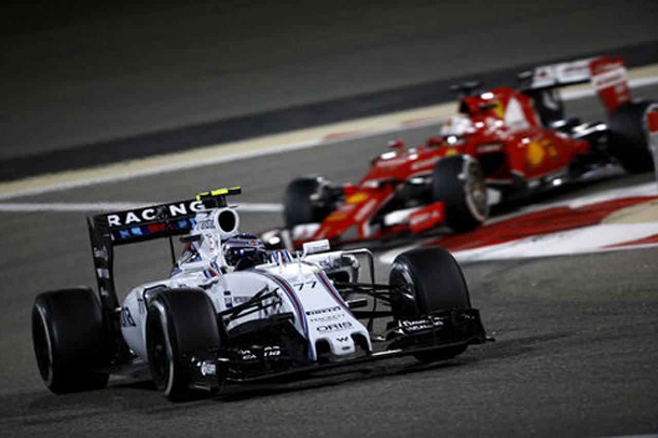 ウィリアムズ:バルテリ・ボッタスが4位入賞 / F1バーレーンGP