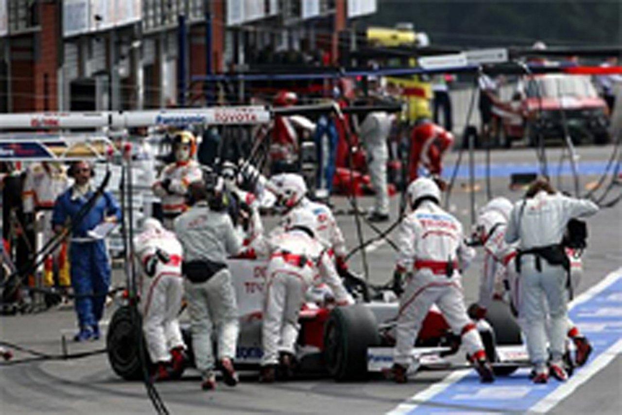トヨタ:失意のノーポント (F1ベルギーGP)