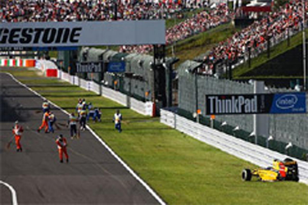 ヴィタリー・ペトロフ、F1韓国GPで5グリッド降格