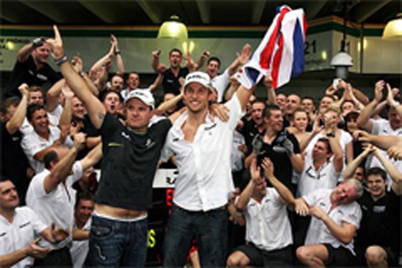 ブラウンGP:ダブルタイトル獲得! (F1ブラジルGP)