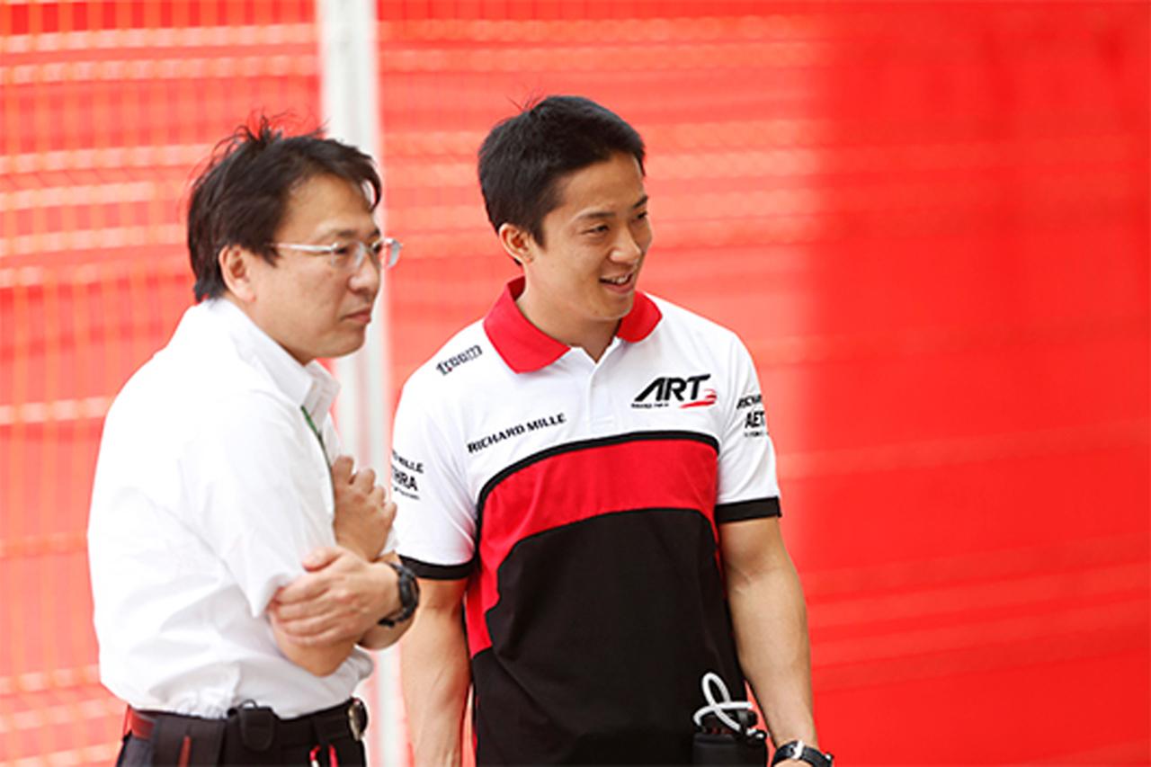 伊沢拓也 「GP2はこれまでのマシンとタイヤの特性が全く違う」