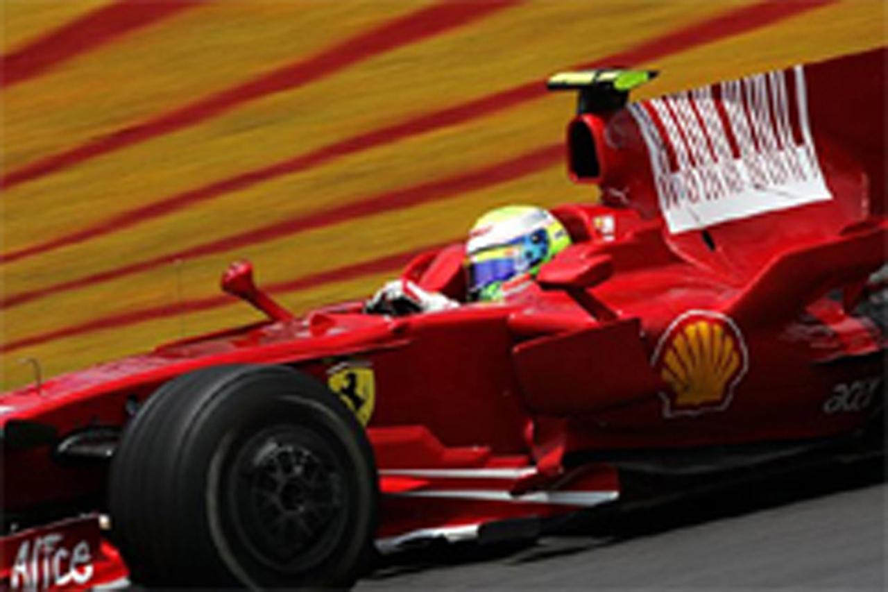 F1最終戦ブラジルGP 予選:マッサがポールポジション獲得
