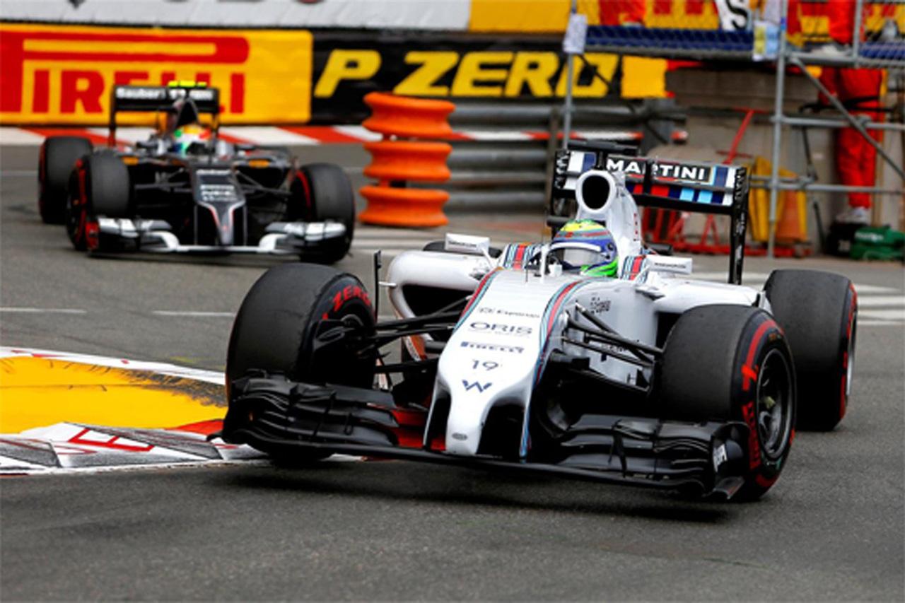 ウィリアムズ:フェリペ・マッサが7位入賞 (F1モナコGP)