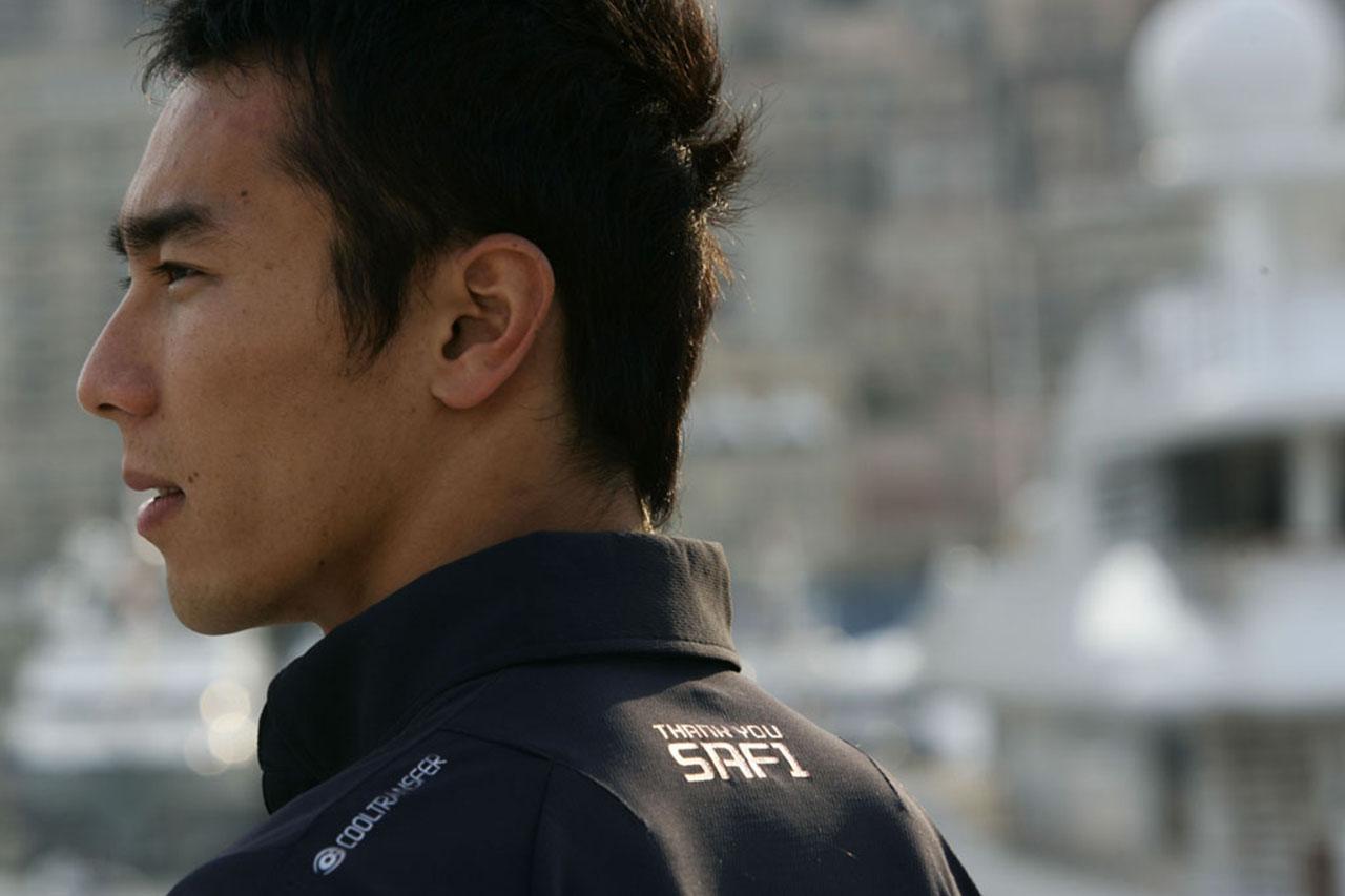 佐藤琢磨、「はなまるカフェ」出演