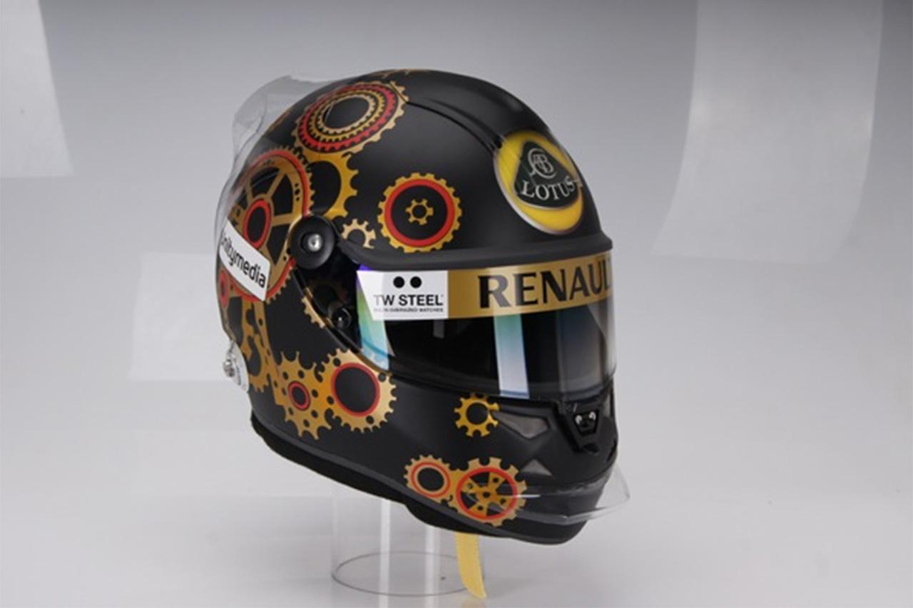 ニック・ハイドフェルド、F1ドイツGPで特別ヘルメットを着用