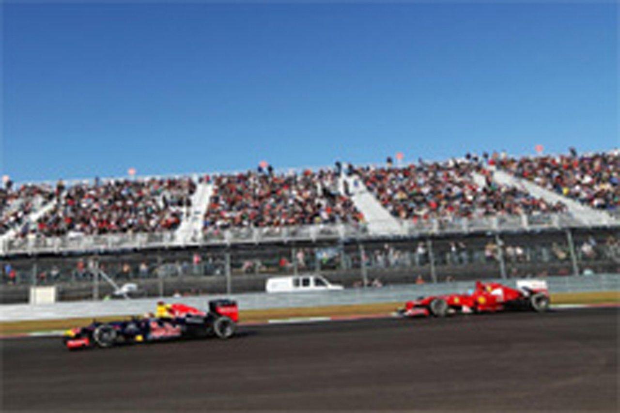 F1、2013年からレース以外でもDRSの使用を制限