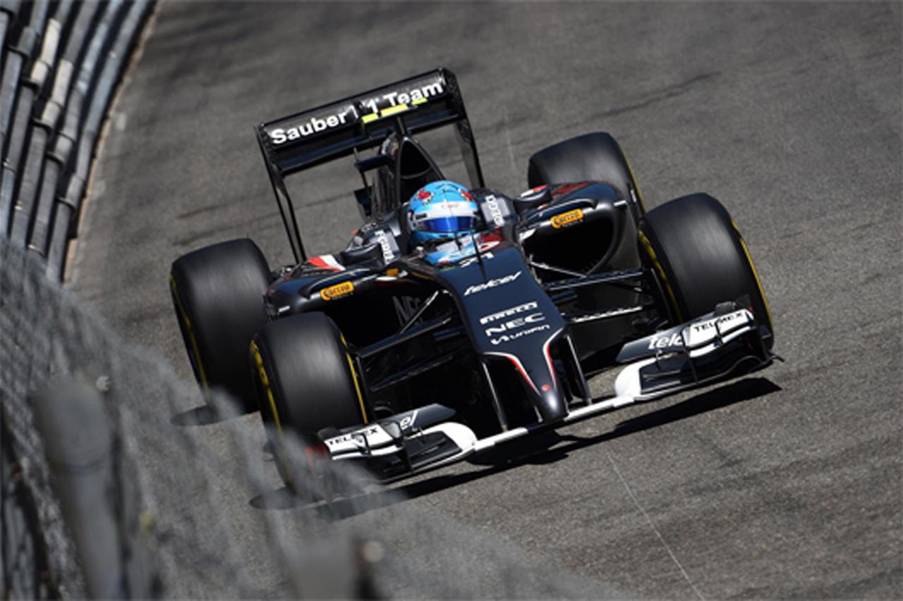ザウバー:揃ってQ1で敗退 / F1モナコGP 予選