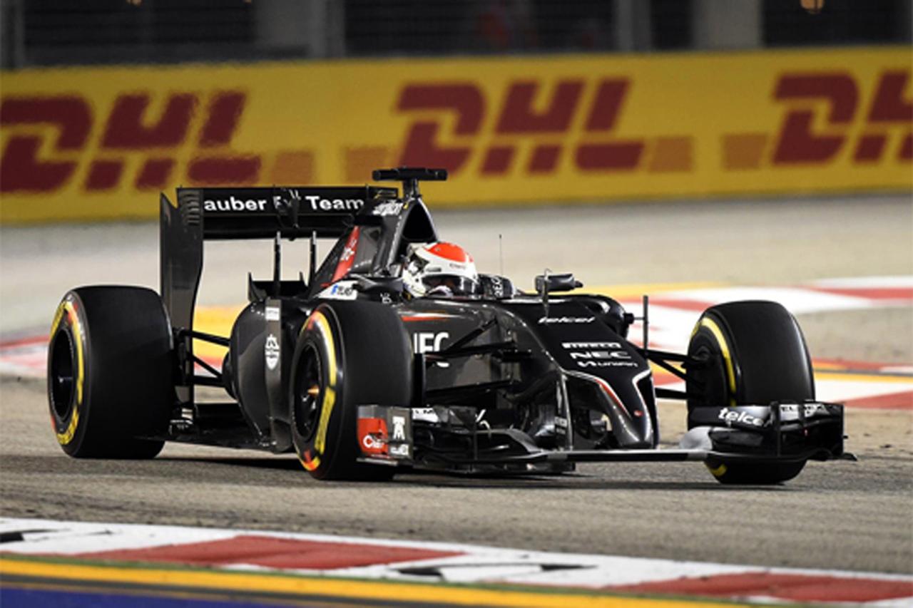 ザウバー:スーティルがQ1敗退 (F1シンガポールGP 予選)