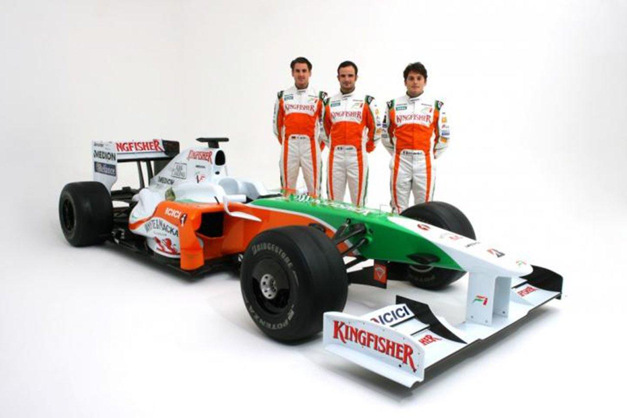 フォース・インディア、VJM02を発表