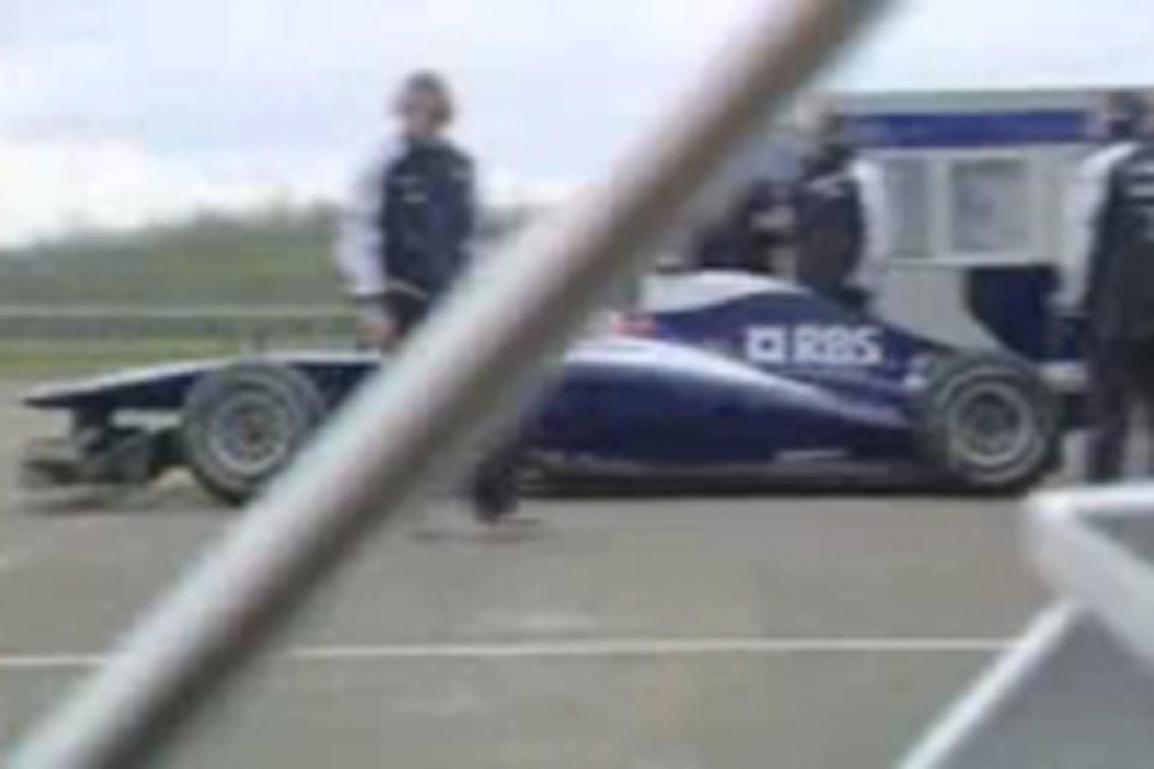 ウィリアムズ FW32:スクープ動画