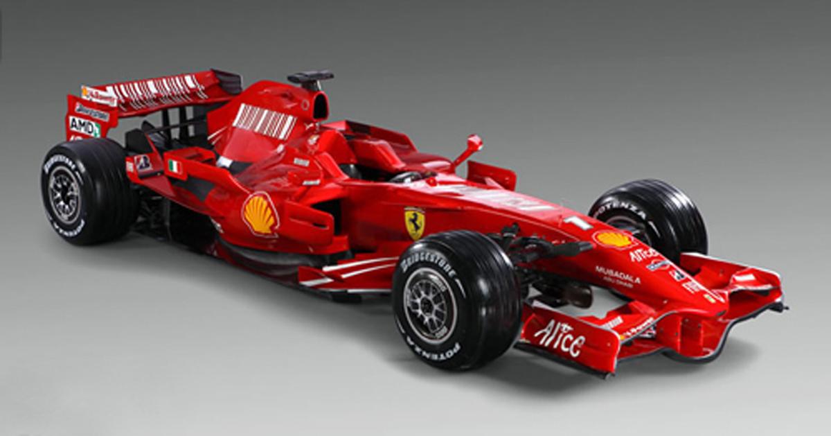 フェラーリ F2008 【 F1 Gate Com