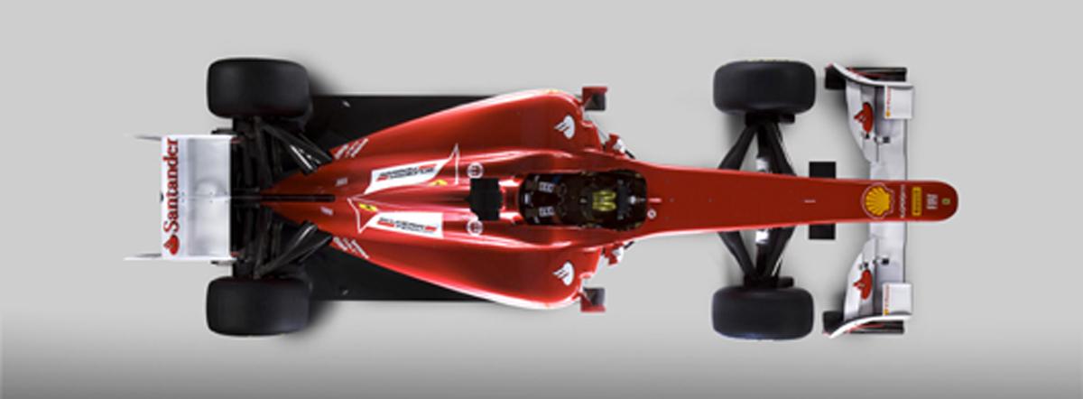 フェラーリ F150 (上部)