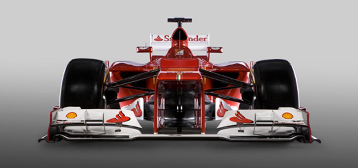 フェラーリ F2012 フロント画像
