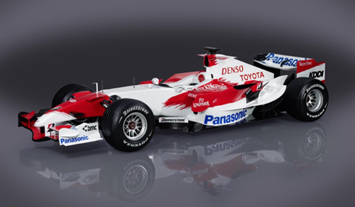 トヨタ TF107 【 F1-Gate.com 】