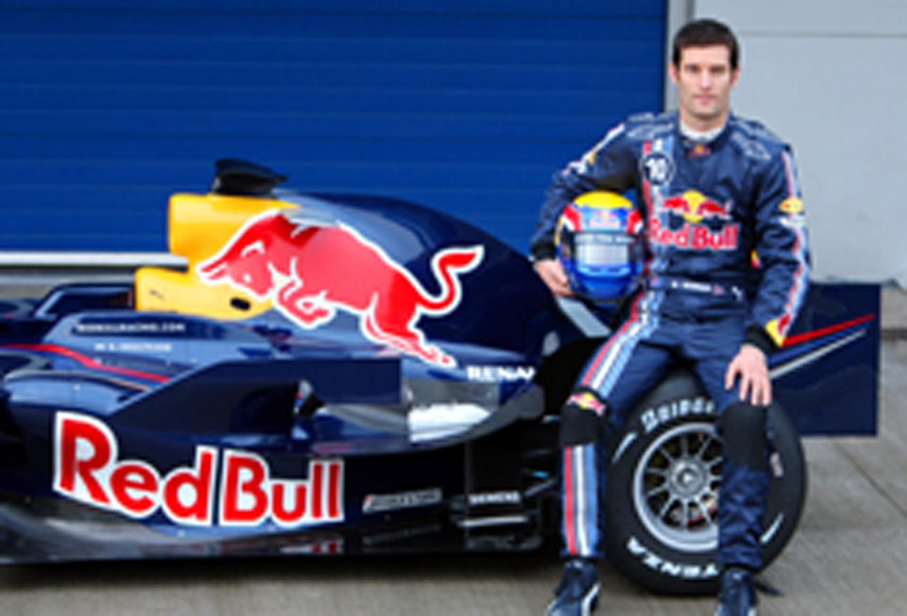 F1 マーク・ウェバー
