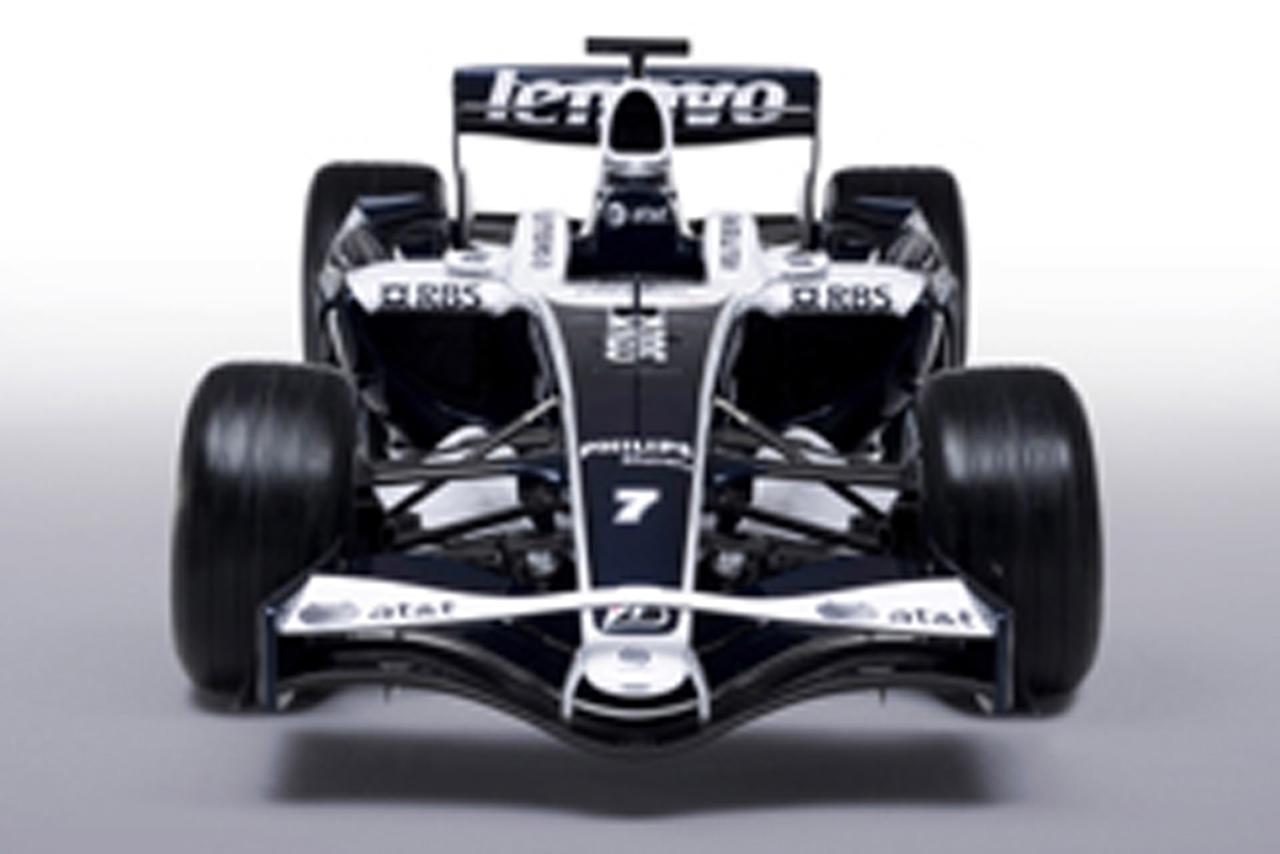 ウィリアムズ、2008年のレースカラーを発表(画像)