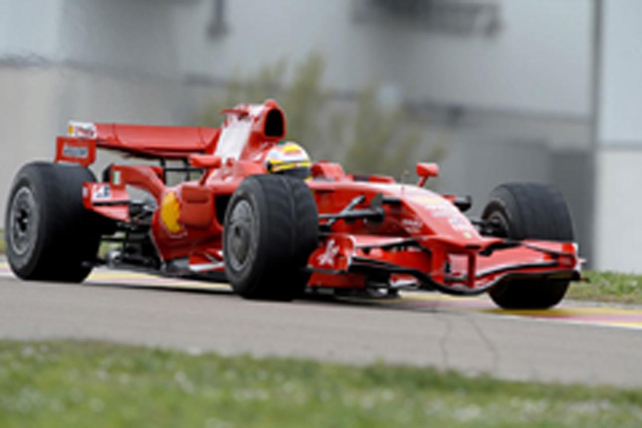 フェラーリ F2008(画像)