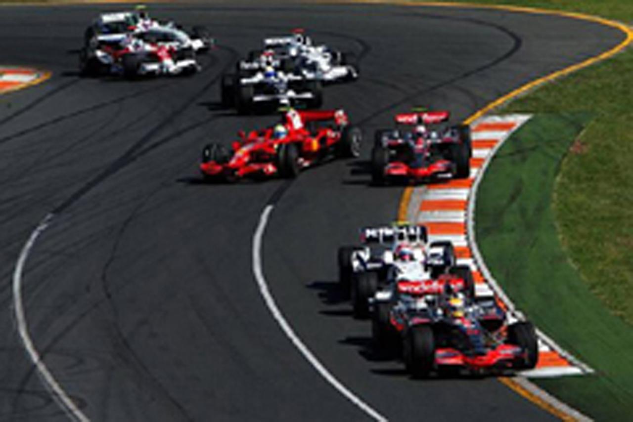 F1開幕戦を制したのはハミルトン(画像)