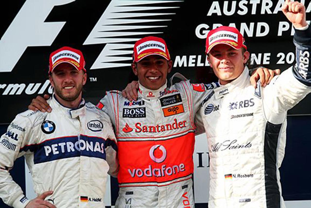 2008年オーストラリアGP決勝 ドライバーコメント