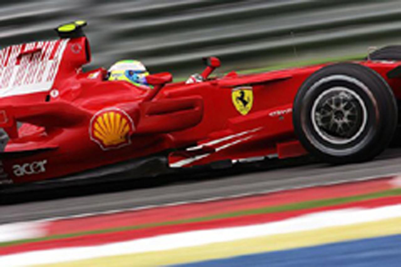 フロントローを独占したフェラーリ(画像)