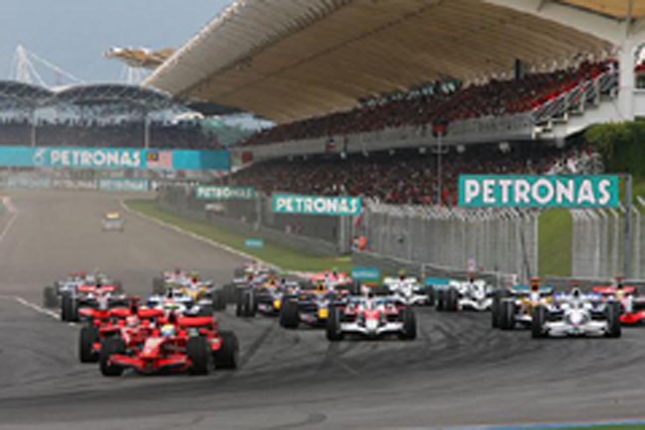 マレーシアGPを制したのはフェラーリのキミ・ライコネン(画像)