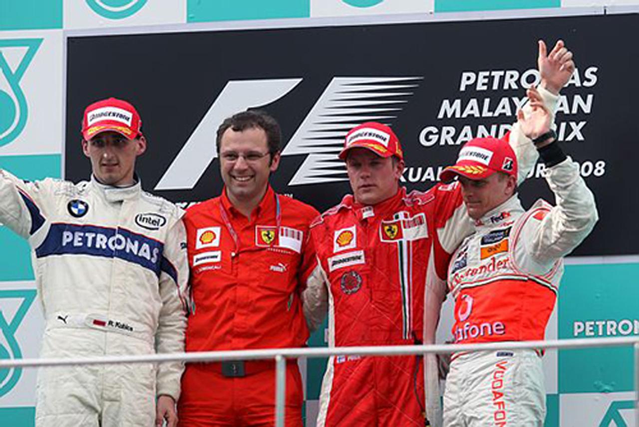 2008年 マレーシアGP決勝 ドライバーコメント