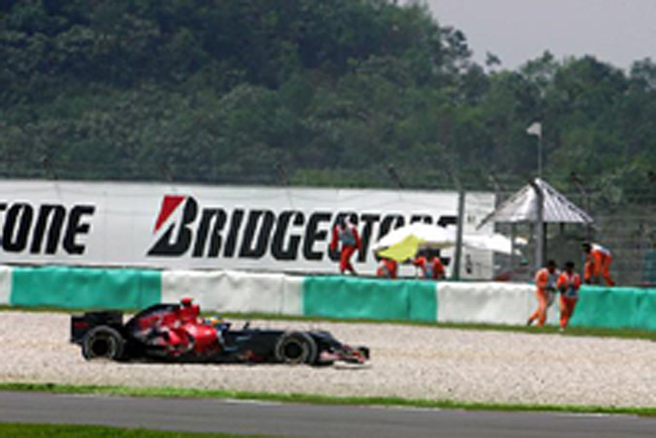 1周目でレースを終えたセバスチャン・ブルデー(画像)