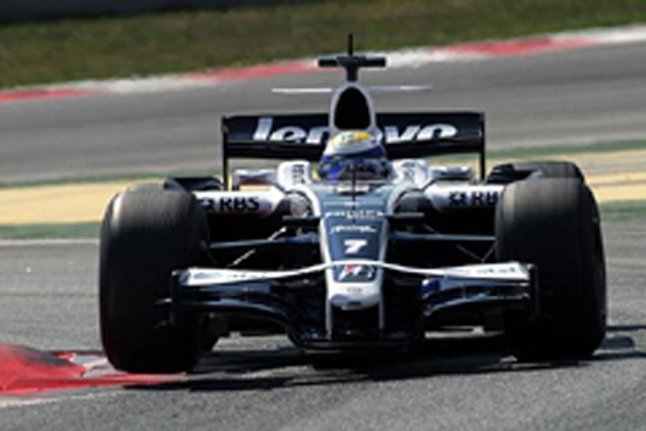 ニコ・ロズベルグがスリックタイヤをテスト(バルセロナテスト2日目)