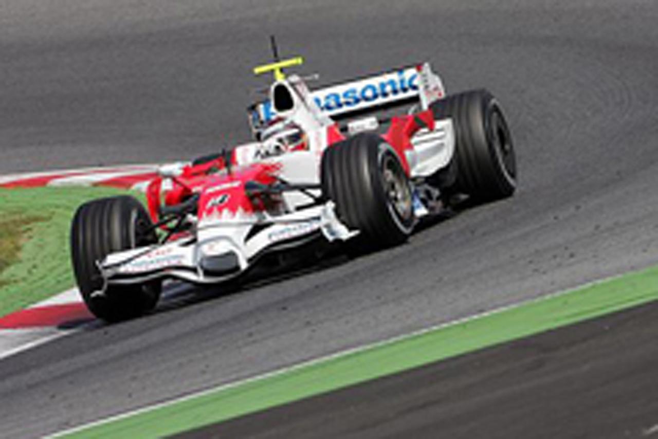 3日目はヤルノ・トェルーリがテストを行ったトヨタ(画像)