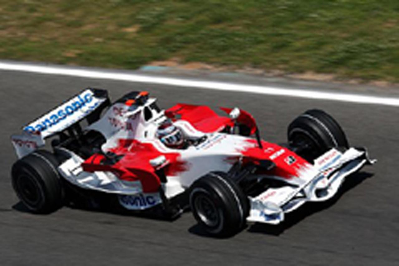 ヤルノ・トゥルーリは14番手(トヨタ)