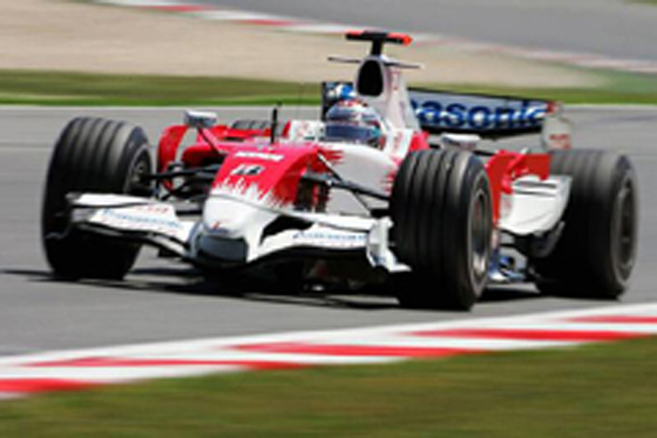 ヤルノ・トゥルーリは8番手(トヨタF1チーム)