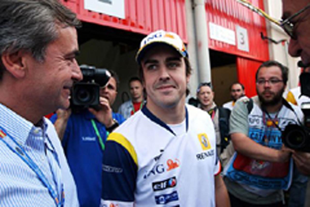 リタイアも素晴らしい走りをみせたフェルナンド・アロンソ(ルノー)