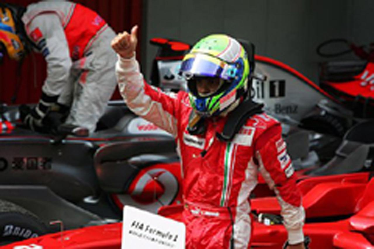 貴重な8ポイントを獲得したフェリペ・マッサ(フェラーリ)