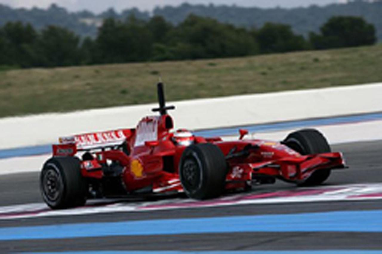 ポールリカールF1テスト2日目(画像)
