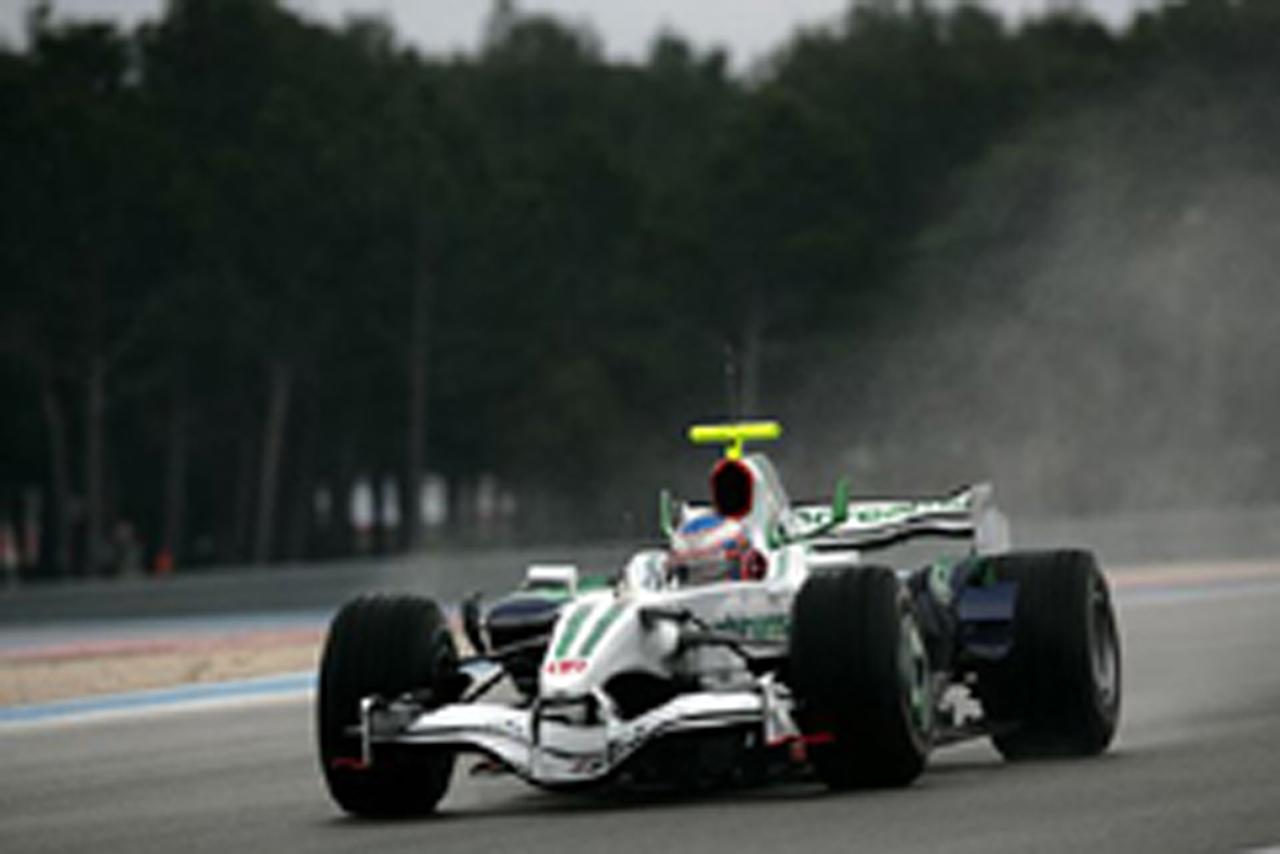 F1ポールリカール合同テスト最終日は雨