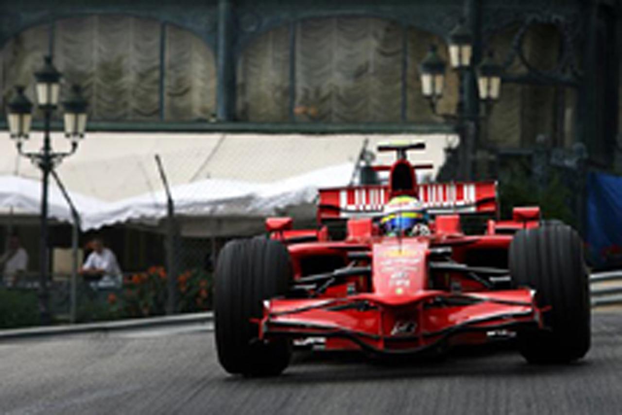 F1 モナコGP予選 フェリペ・マッサがポールポジション(フェラーリ)