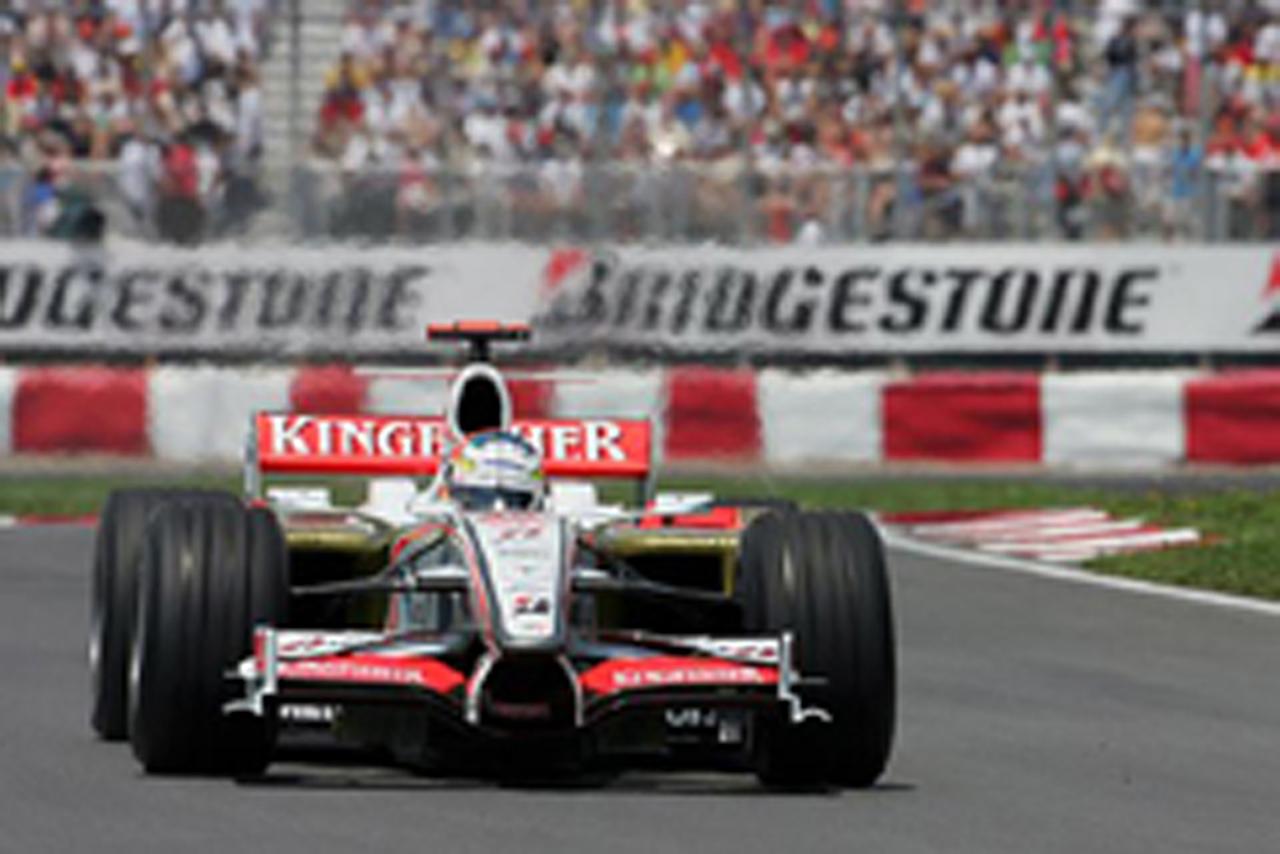 フォース・インディア カナダGP予選