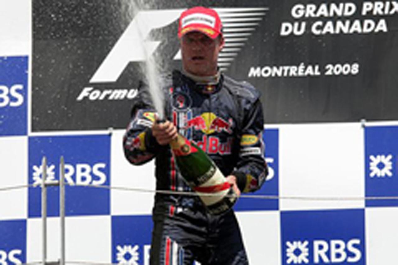 3位表彰台で今季初ポイントを獲得したデビッド・クルサード