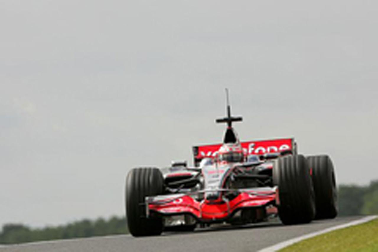 F1 シルバーストンテスト2日目(画像)