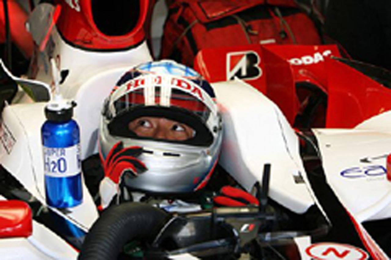 テストドライバーでの復帰の可能性を語った佐藤琢磨