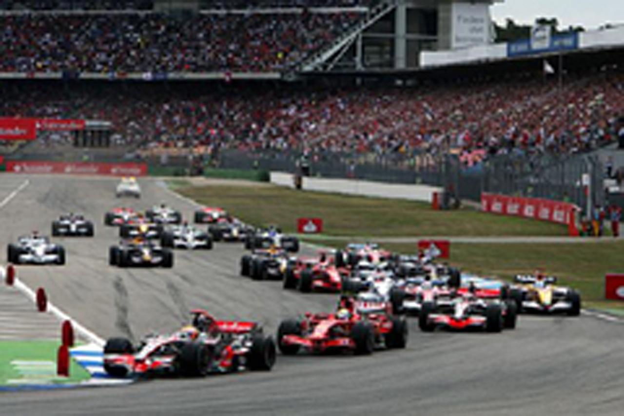 F1 ドイツGP 決勝