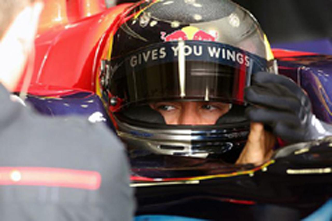 F1 ヘレステスト2日目