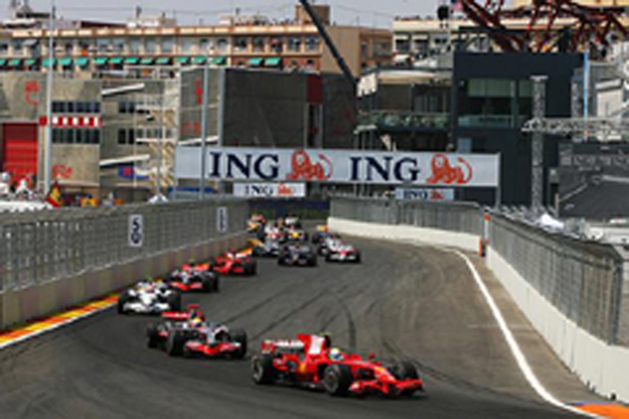F1ヨーロッパGP決勝